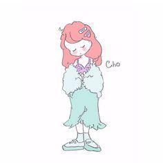 埋め込み Cute Little Drawings, Cute Drawings, Disney Kunst, Disney Art, Pretty Art, Cute Art, All Disney Princesses, Princesa Disney, Anime Child
