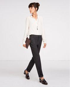 Pantalon tailleur   Jeans et pantalons   Comptoir des Cotonniers