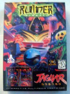 Ruiner Pinball for Atari Jaguar 64 Bit  Video Pinball