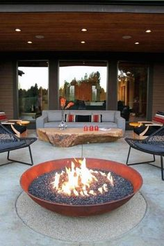 If you are looking for Backyard Fire Pit Ideas, You come to the right place. Below are the Backyard Fire Pit Ideas. This post about Backyard Fire Pit Ideas was p. Backyard Layout, Backyard Patio Designs, Backyard Seating, Backyard Landscaping, Modern Patio Design, Fence Design, Fire Pit Gallery, Fire Pit Materials, Fire Pit Furniture