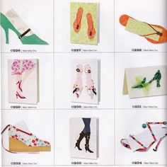 Shoe themed greeting cards...  Google Image Result for http://craftside.typepad.com/.a/6a00e55007f5938834014e8830a9a8970d-320wi