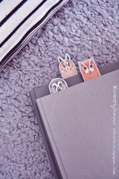 free printable owl bookmarks