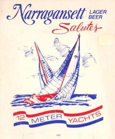 Limited edition Narragansett Beer can from the '80s [client]