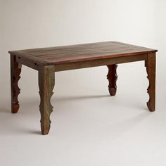 "WorldMarket.com: Anya Extension Table 	 $629.99  63""-92""W x 36""D x 30""H, 148 lbs."