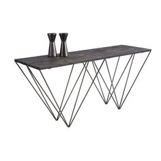 Sunpan 'mixt' Ruffin Console Table (Ruffin Console Table), Black
