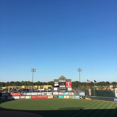 A little windy and cool but @gosquirrels! #rvawx #weather #baseball