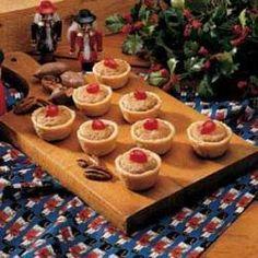 how to make pecan tarts video