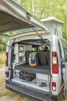 Van aménagé - Renault Trafic - Gamme TREK - Hanroad - Rangements 3