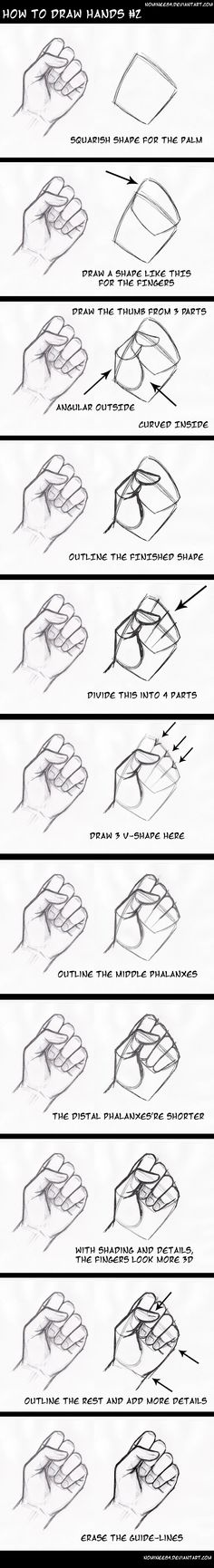 how to draw hands2 by nominee84.deviantart.com on @DeviantArt