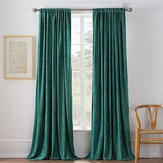 Warren 95-Inch Window Curtain Panel in Parasailing