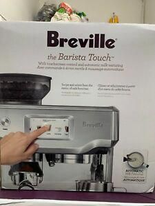 New Sealed Breville Barista Touch Espresso Machine Coffee Coffee And Espresso Maker, Cappuccino Maker, Blended Coffee, Espresso Machine, Black Rock Coffee, Cheap Coffee Mugs, Coffee Facts, Spiced Coffee, Best Coffee