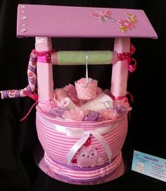 "The Wishing Well   ....  Baby Gift Shalea Design by ""Shalea Gifts"" shalea.gifts@gmail.com  (Aust.) Find me on Facebook"