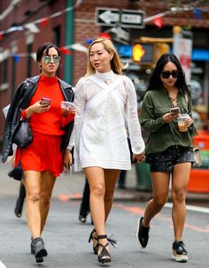 Street Style - Fall Outfit Inspiration from New York Fashion Week 2015 | StyleCaster