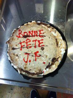 bonne fête JF!! (melted) Sliders, Breakfast, Desserts, Food, Happy Name Day, Morning Coffee, Tailgate Desserts, Deserts, Essen