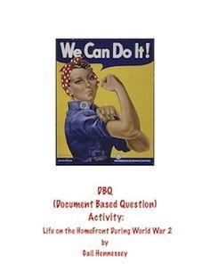 dbq essay world war 1