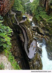 Pailón del Diablo, Ecuador
