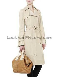 Designer Style Suede Leather Trench Women Coat click here to view -http://www.leatherfitters.com/new-arrivals/detail-designer-style-suede-leather-trench-women-coat-145.aspx
