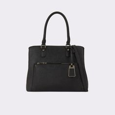 Gahagan This satchel's sleek epi leather-like texture and refined shape with have heads turning at the airport, train station, or even just around town.