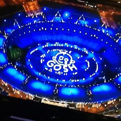 London Olympics 2012 opening ceremonies. GOSH is the Great Ormand Street Hospital, a children's charity hospital in London. Dancers' pay tribute to it and create this great view in the Olympic stadium.