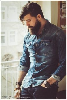 Denim Shirts for Men: 80 Ways To Do It In Style