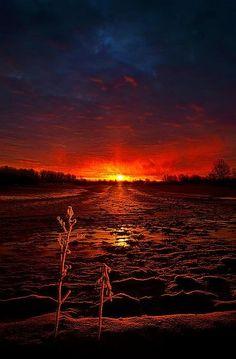 ✯ Winter's Goodbye  Horizons by Phil Koch  Milwaukee, Wisconsin