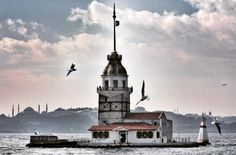 Kiz Kulesi in Istanbul, Turkey. |Also known as the Maiden's Tower, this historic monument in Istanbul has a long history steeped in mystery and legend. At the same time, the tower has appeared several times in pop culture, including in videogames and movies. It is currently a small museum and restaurant with unique views of the Bosphorus. 16 Once-In-A-Lifetime Restaurants Everyone Should Eat At