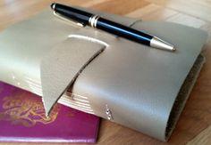 Wedding gift honeymoon tour journal  Leather travel journal with pockets bucket list gap year graduation giftvacation journal by BespokeBindery