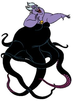 Ursula, the Sea Witch from Disney's Little Mermaid Disney Villains, Disney Pixar, Walt Disney, Disney Characters, Disney Little Mermaids, Disney Love, The Little Mermaid, Mermaid Princess, Disney Princess