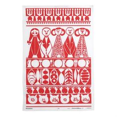 Kitchen towel by Marianne Westmann for Almedahls