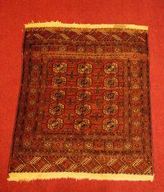 Lot 028 S54 - Bokhara Rug - Est. $300-500 - Antique Reader