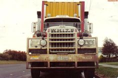 Vintage Trucks, Old Trucks, Semi Trucks, Western Star Trucks, White Truck, Rigs, Trailers, Vehicles, Australia