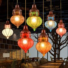 Aliexpress.com : Buy Bohemian Mediterranean Colorful Glass Ceiling Drop Light Pendant Lamp Lighting Fixture for Cafe Bar Restaurant Cafe Decor from Reliable lighting fixtures for home suppliers on Shenzhen M-Home Co. Ltd  | Alibaba Group  HOME DECOR DECORATION