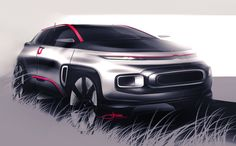 Citroën SUV on Behance