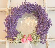 Lavender Wreath...so pretty