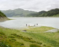 Dam and Man in Savoy, Céline Clanet - ATLAS OF PLACES