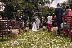 Casamento ao ar livre: Cerimônia.  ( Foto: Mateus Montoni)
