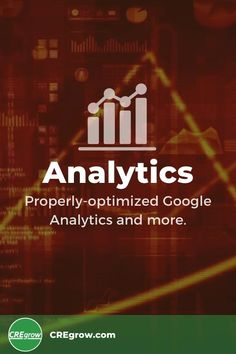 Properly-optimized website traffic analysis tools provide valuable insights that shape online #CRE success strategies. Our websites are delivered complete with multiple customized tools that measure crucial metrics such as pageviews, visitors, and conversion rates. #CREmarketing #WordPress #GoogleAnalytics #whatsupCRE?