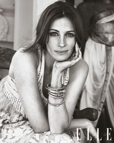 Julia Roberts September Issue of Elle 2010... So beautiful