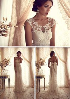 Anna Campbell Gossamer Collection - She Wears White