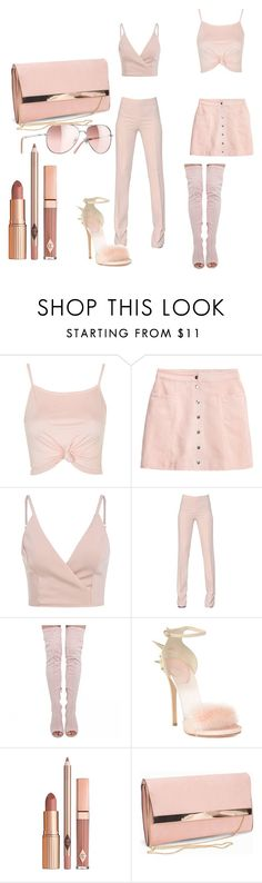 """""""color of the week"""" by naestylez ❤ liked on Polyvore featuring Topshop, Antonio Berardi, Giuseppe Zanotti, Chanel, Dolce Vita and New Look"""