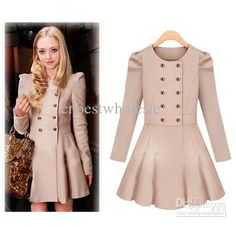 free shipping, $44.48/piece:buy wholesale 2014 womens winter thick double breasted trench coats fashion duffle wool coat slim loose dress warm coat on cnbestwholesle's Store from DHgate.com, get worldwide delivery and buyer protection service.
