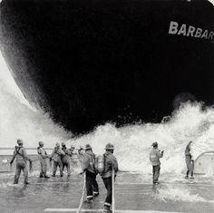 Ethan Murrow crée des oeuvres au crayon qui représentent des scènes grandioses et surréalistes.