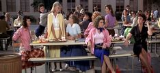 Grease (1978) Sandy and the Pink Ladies.