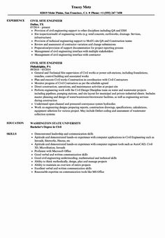 15 Marriage Resume Format For Girl In Civil Engineering Jobs, Engineering Resume, School Of Engineering, Resume Template Examples, Good Resume Examples, Resume Design Template, Interior Design Resume, Civil Engineer Resume, Resume References