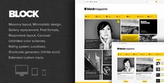 Review Block Magazine - Flat and Minimalist Blog ThemeYes I can say you are on right site we just collected best shopping store that have