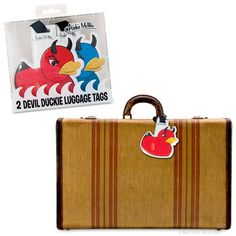 Devil Duckie Luggage Tags - Archie McPhee & Co.
