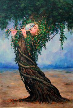 Radha Krishna – Highest pleasure is the pleasure of love - by Hariom Singh
