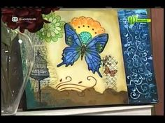 Espazio Ideal 22 de abril 2015 Telecafé - YouTube Decoupage, One Stroke, You Are Invited, Mixed Media Art, Art Images, Youtube, Invitations, Frame, Art Ideas