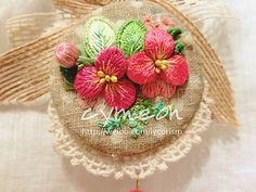 stumpwork embroidery by cymeon, via Flickr