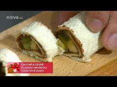 89  Láďa Hruška   Toustové sushi Sushi, Make It Yourself, Youtube, Youtubers, Sushi Rolls